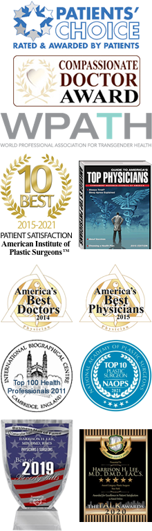 dr lee plastic surgeon awards
